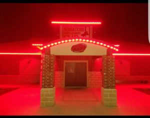 strip-club-front-door-night